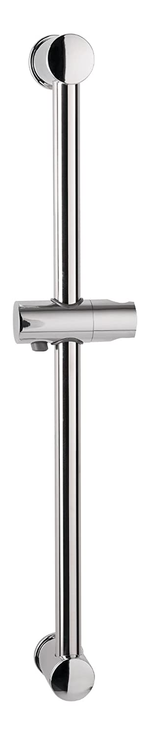 chrome barre murale Aquasu Barre de douche Lago barre de douche 60/ cm 1/ pi/èce 72701/ 3 fixation /à coller ou percer diam/ètre 25/ mm