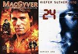 Dont Underestimate Season 1 TV Action MacGyver secret agent & 24 Complete First Season Jack Bauer DVD Series