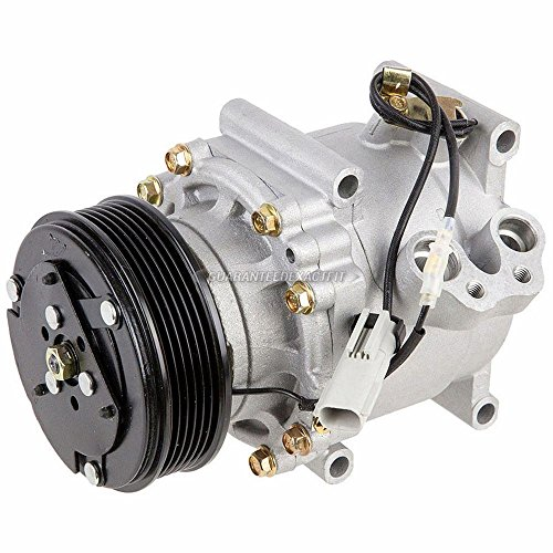 AC Compressor & A/C Clutch For Chrysler Cirrus Sebring & Dodge Stratus - BuyAutoParts 60-01230NA NEW Chrysler Cirrus A/c Compressor