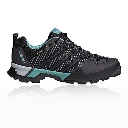 adidas Damen Terrex Scope GTX Trekking-& Wanderhalbschuhe Schwarz (Cblack/Ashgrn Carbon/Cblack/Ashgrn)