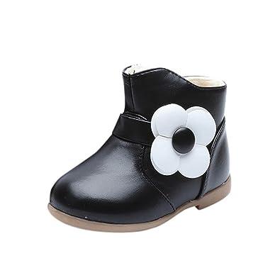03886a0c46f Baby Boots Toddler Newborn Soft Sole Anti-Skid Pram Booties Socks 0-6 Months