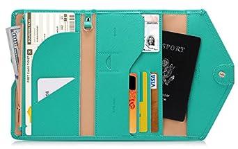 Zoppen Multi-purpose Rfid Blocking Travel Passport Wallet (Ver.4) Organizer Holder