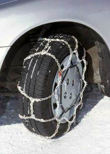 Security Chain Company WS1605 Whitestar Alloy Tire Traction Chain - Set of 2