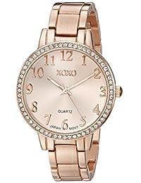 XOXO xo5846Analog Display Analog Cuarzo Reloj De Oro De La Mujer