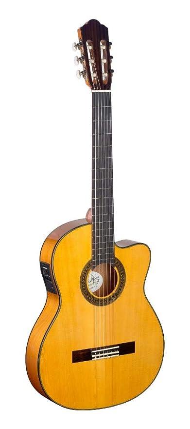 Ángel López cf1246tcfi-s thin-body acoustic-electric Flamenco ...