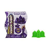 Kinetic Sand, 2lb Shimmering Purple Amethyst With Castle Mold | Frustration Free Packaging (Purple)