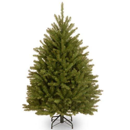 National Tree 4.5 Foot Dunhill Fir Tree, Hinged (DUH-45) Deal (Large Image)