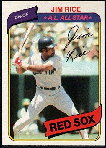 Baseball MLB 1980 Topps #200 Jim Rice Red Sox