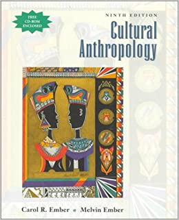 Book Cultural Anthropology, (Free CD-ROM enclosed)