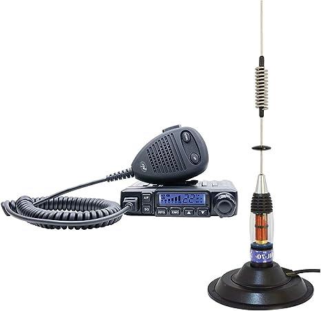 Radio CB PNI Escort HP 6500 ASQ con Antena CB PNI ML70 ...
