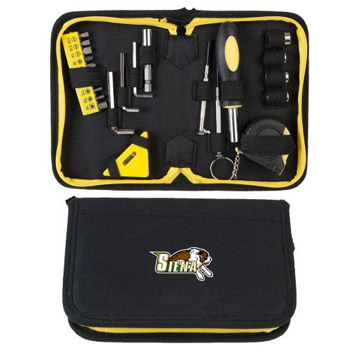 CollegeFanGear Siena Compact 23 Piece Tool Set 'Official Logo' by CollegeFanGear