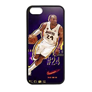 iPhone 5 Case, [kobe] iPhone 5,5s Case Custom Durable Case Cover for iPhone5 TPU case(Laser Technology)