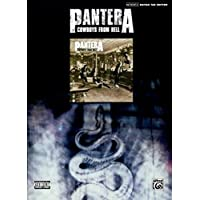 Pantera - Cowboys From Hell Guitar Tab Songbook