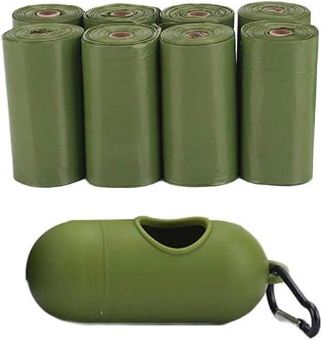 AUOKER Bolsa para Caca de Perro, ecológica, Biodegradable, Bolsas ...