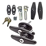 Gordon Glass Co.. Bauer Matching Set Locking T-Handle | Complete Kit | Keyed with Key J327