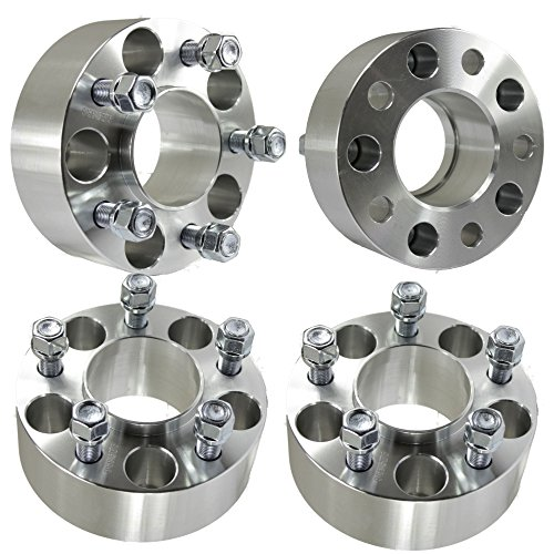 """(4) 2"""" (50mm) Wheel Adapters 5x4.5 to 5x5 Adapters Fits JK Wheels Onto TJ YJ Hubcentric hot sale"""