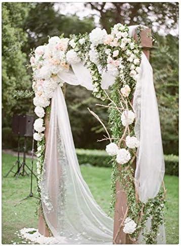 QueenDream Chiffon Wedding Birthday Decoration product image
