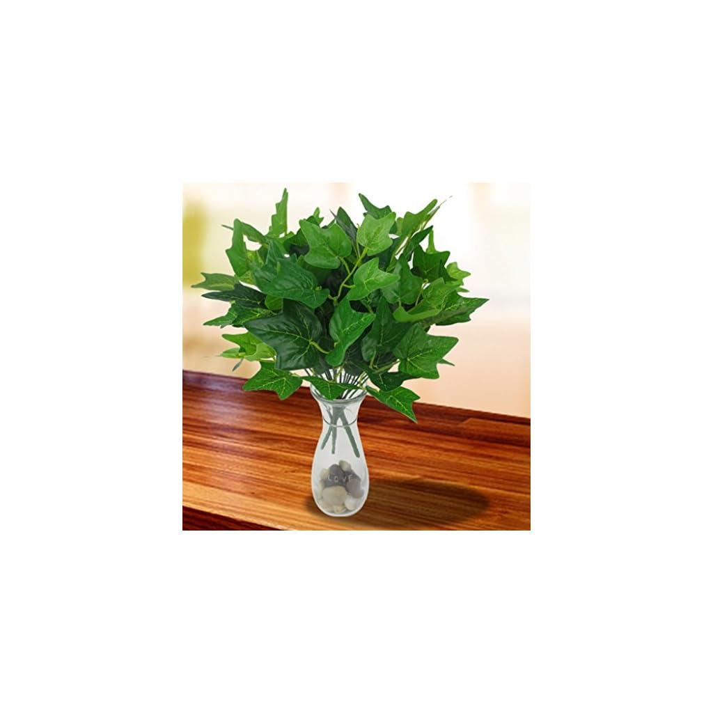 Shuohu-Fake-Sweetpotato-leaf-Artificial-Silk-Flower-Bouquet-Home-Wedding-Floral-Decor-7-Branches