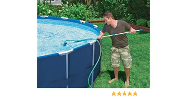 Cleaning Maintenance Swimming Pool Kit with Vacuum & Pole | 28002E