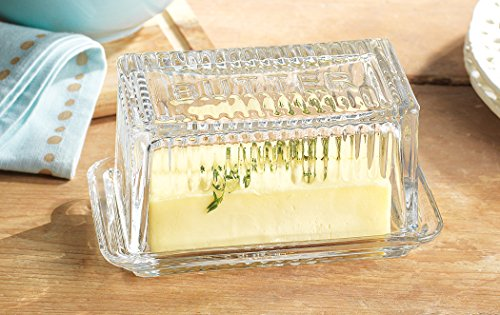 Home Essentials & Beyond 9517 Lifestyle Butter Dish Bowl, Large