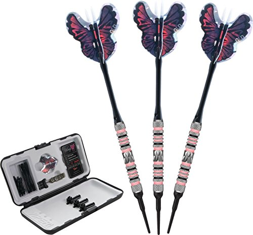 Viper Wings 80% Tungsten Soft Tip Darts with Storage/Travel Case, 16 Grams by Viper by GLD Products