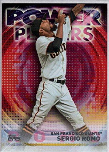 2014 Topps Update Power Players #PP-SR Sergio Romo Giants Baseball Card NM-MT ()