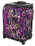 ZUCA Navigator Carry-On Bag with Built-in Seat, Wild Orchid, Black Frame