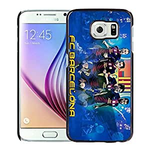 Fc Barcelona 3 Black Case with Newest and Unique Look for Popular Samsung Galaxy S6