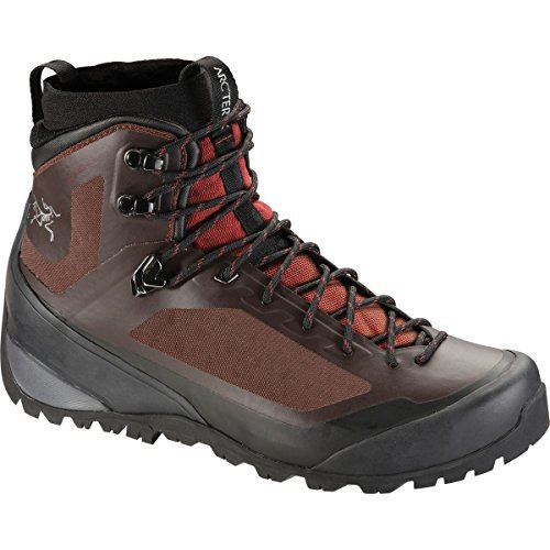 Arc'teryx Bora Mid GTX Hiking Boot - Men's Redwood/Black 10.5 by ARCTERYX