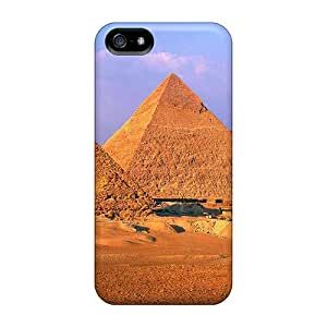 5/5s Scratch-proof Protection Case Cover For Iphone/ Hot Pyramids Of Giza Egypt Phone Case