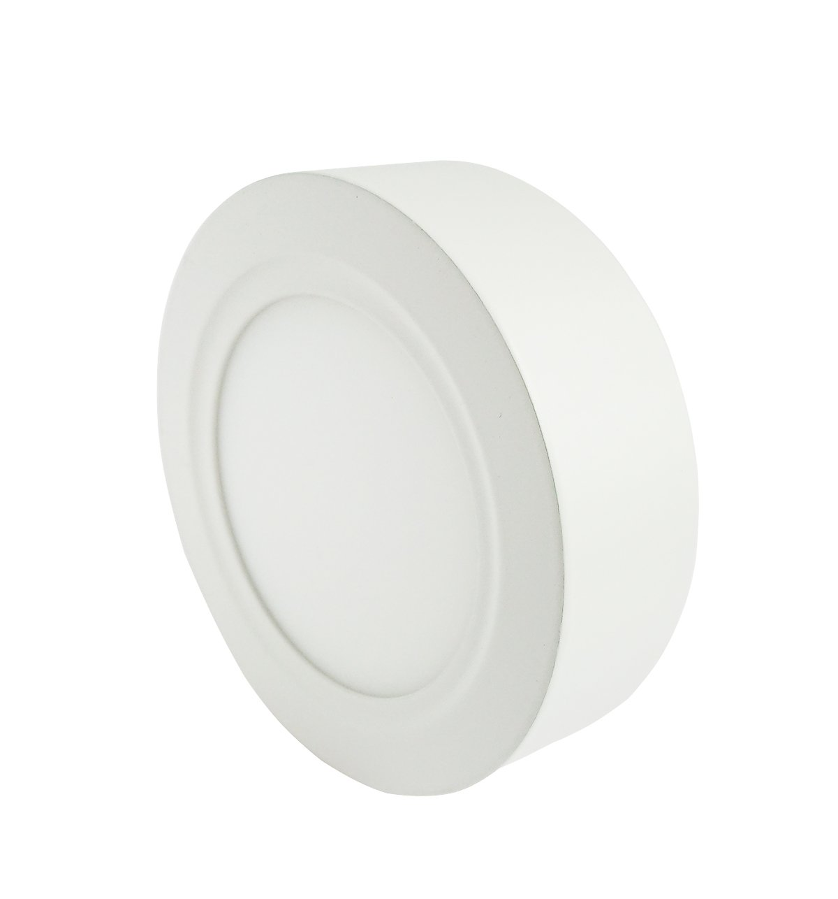 LED plafon de superficie Lumentech LED downlight de superficie 6W 4000K redondo blanco