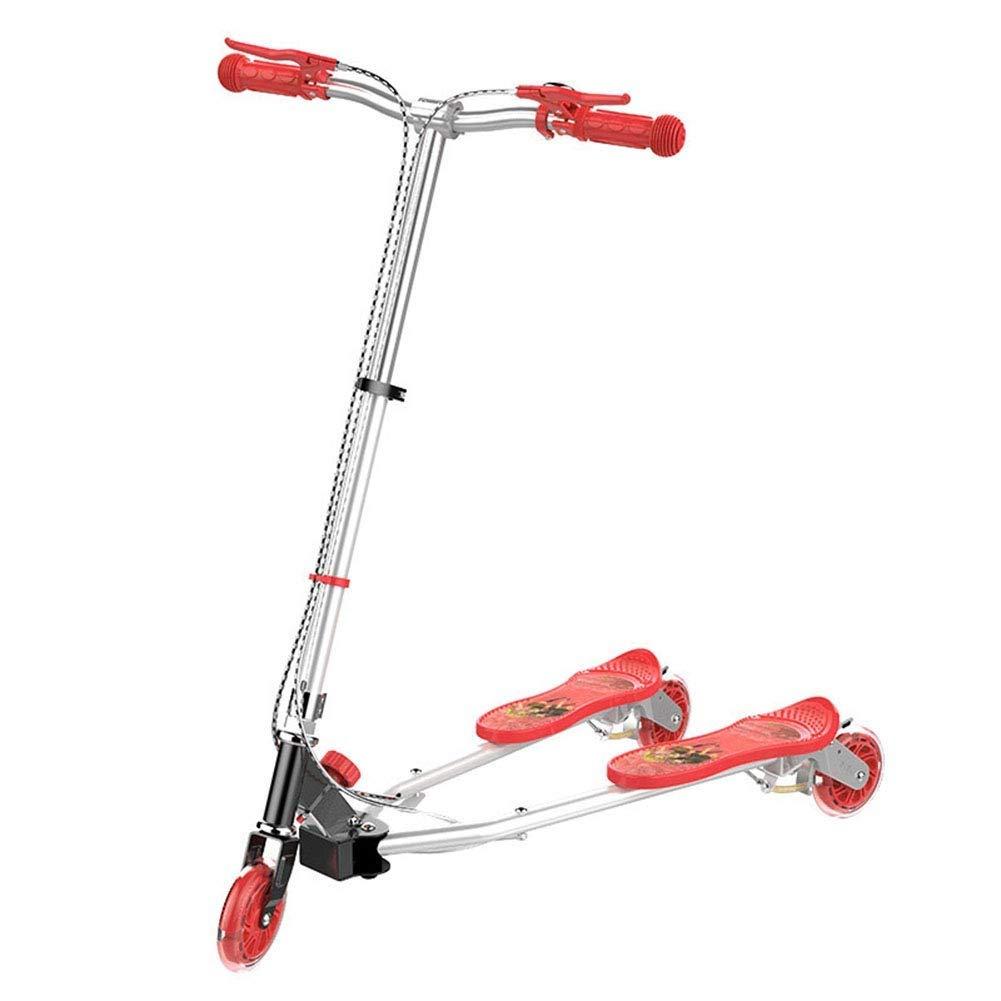 一番の スクーターを蹴る子供たち 三輪車、シザー車 赤 (色、スイングカー、カエルスクーター (色 : ピンク) 赤 B07R66PDJL 赤 赤, 宮城郡:cb50895d --- 4x4.lt
