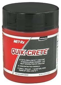 MET-Rx Quik-Crete Creatine -- 2.65 oz