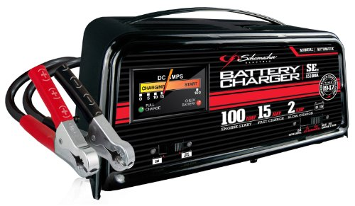 Schumacher SE-1510MA '100/15/2 Amp' 6V/12V Automatic Charger with Engine Start