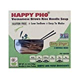 Star Anise Foods - NON GMO Gluten Free Vietnamese HAPPY PHO Zesty Ginger - 4.5 oz / 2 Servings per box, Pack of 6 boxes