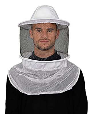 Humble Bee 210 Polycotton Beekeeping Veil with Round Hat