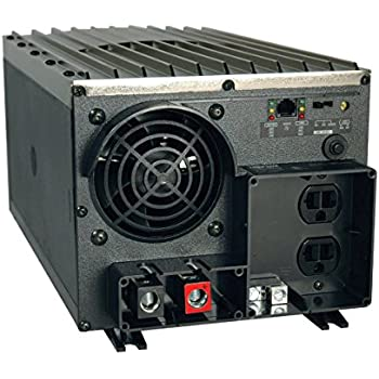 Tripp Lite Power Industrial Inverter, 2000W, 12VDC, 120V, RJ45, 5-15R 2-Outletsfor RVs,Trucks, Fleet Vehicles & Emergency Vehicles, 1 Year Warranty (PV2000FC)