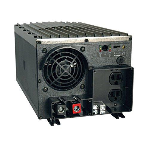 Tripp Lite Power Industrial Inverter, 2000W, 12VDC, 120V, RJ45, 5-15R 2-Outlets  for RVs,Trucks, Fleet Vehicles & Emergency Vehicles (PV2000FC) ()