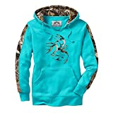 We took our most popular men's hoodie and made one just for you. Heavyweight high cotton blend hoodie in new colors and a true women's cut with Big Game® Camo accents. Features a soft scoop neck opening for easy on-off and extra comfort. Ma...