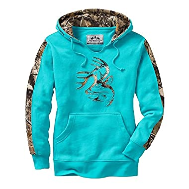 Legendary Whitetails Ladies Outfitter Hoodie Glacier X-Large
