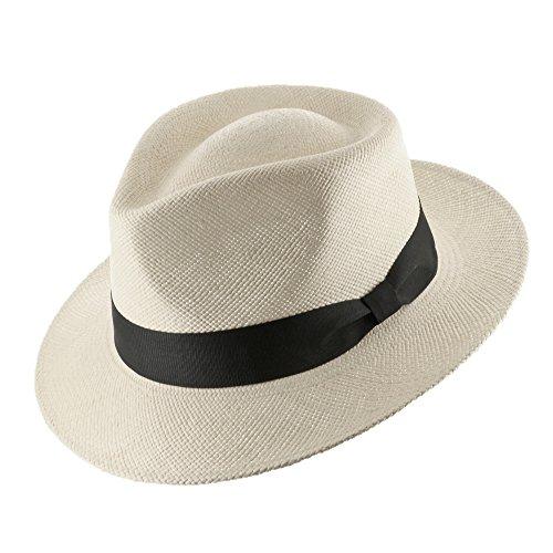 Genuine HAVANA Retro Panama Straw Hat Classic Lightweight ALL SIZES 7