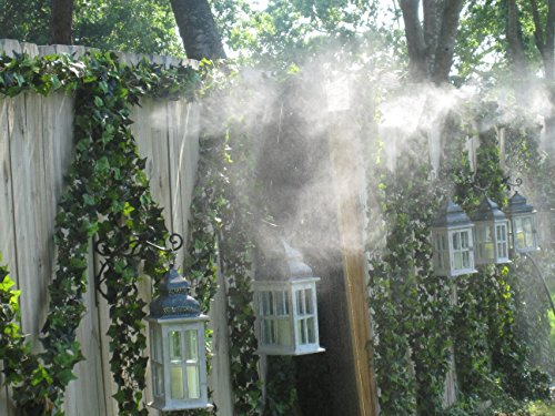 30 Gallon Tank System (Automated Mosquito Misting System - 10 Nozzle Mosquito Control System - Do It Yourself Mosquito System (20 Nozzle System - 30 Gallon Tank))