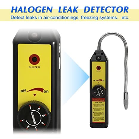 Freon Leak Detector Refrigerant Halogen R134a R410a R22a Bag Air Condition  HVAC