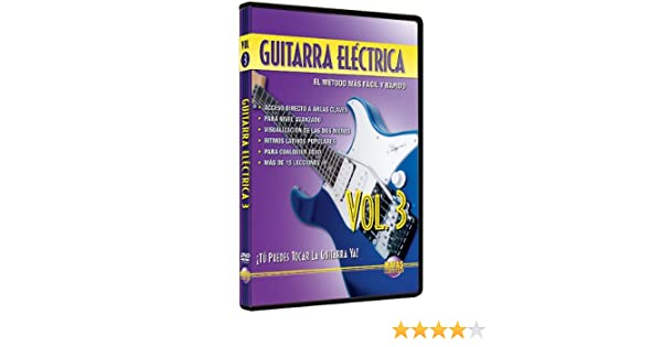 Amazon.com: Guitarra Electrica, Vol 3: Tu Puedes Tocar La Guitarra Ya! (Spanish Language Edition) (DVD): Rogelio Maya: Movies & TV
