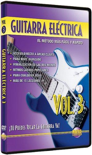 Amazon.com: Guitarra Electrica, Vol 3: Tu Puedes Tocar La Guitarra Ya! (Spanish Language Edition) (DVD): Rogelio Maya: Movies & TV