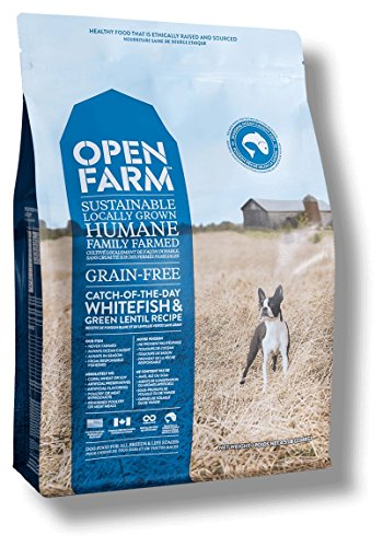 Open Farm Catch-Of-The-Day Grain-Free Whitefish And Green Lentil Recipe Dry Dog Food 4.5 Pounds