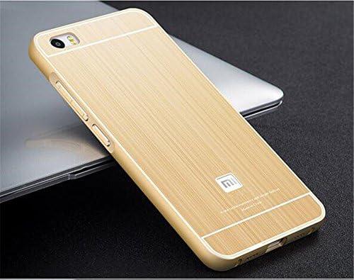tip top ® Xiaomi Mi 5 Funda, Ultrafina de Lujo Metal Aluminio ...
