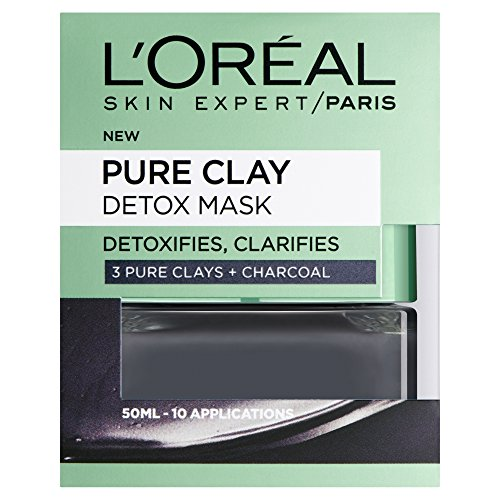 Dermo Expertise Pure Clay Detox Mask, Black 50