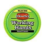 OKeeffes Working Hands Hand Cream Value Size, 6.8 oz., Jar