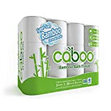 Caboo Tree-Free Bamboo Toilet Paper, 24 Double Rolls, Septic Safe Biodegradable Bath Tissue with Eco Friendly Soft 2 Ply Sheets